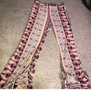 REPOSH hippie yoga flare stretch pant